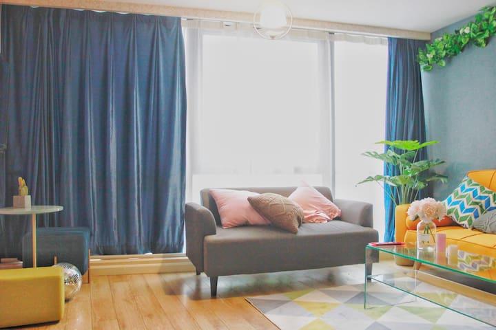 落地窗 采光无限好的客厅