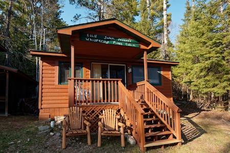 Elbow Lake Lodge Whispering Pines Cabin