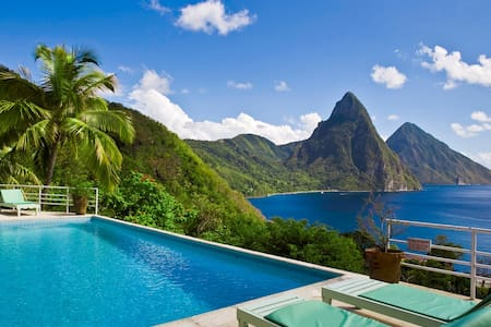 Charming villa, spectacular views. - Soufriere, Saint Lucia