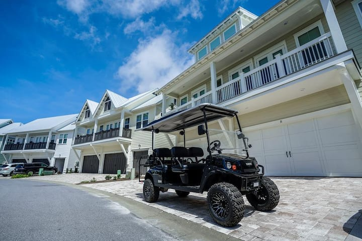 Prominence on 30A - Shore Thing - GOLF CART!