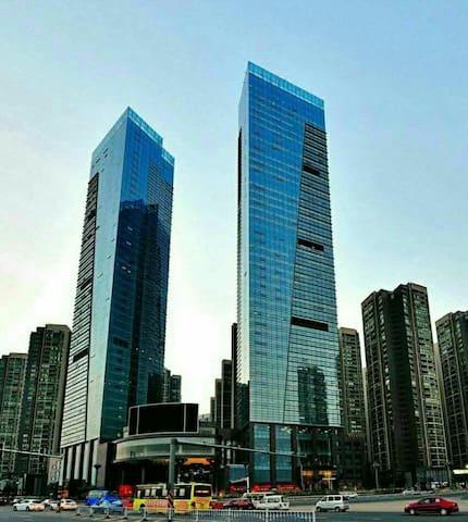 会展城贵阳北站旁的温馨小屋 - Guiyang Shi - Apartamento