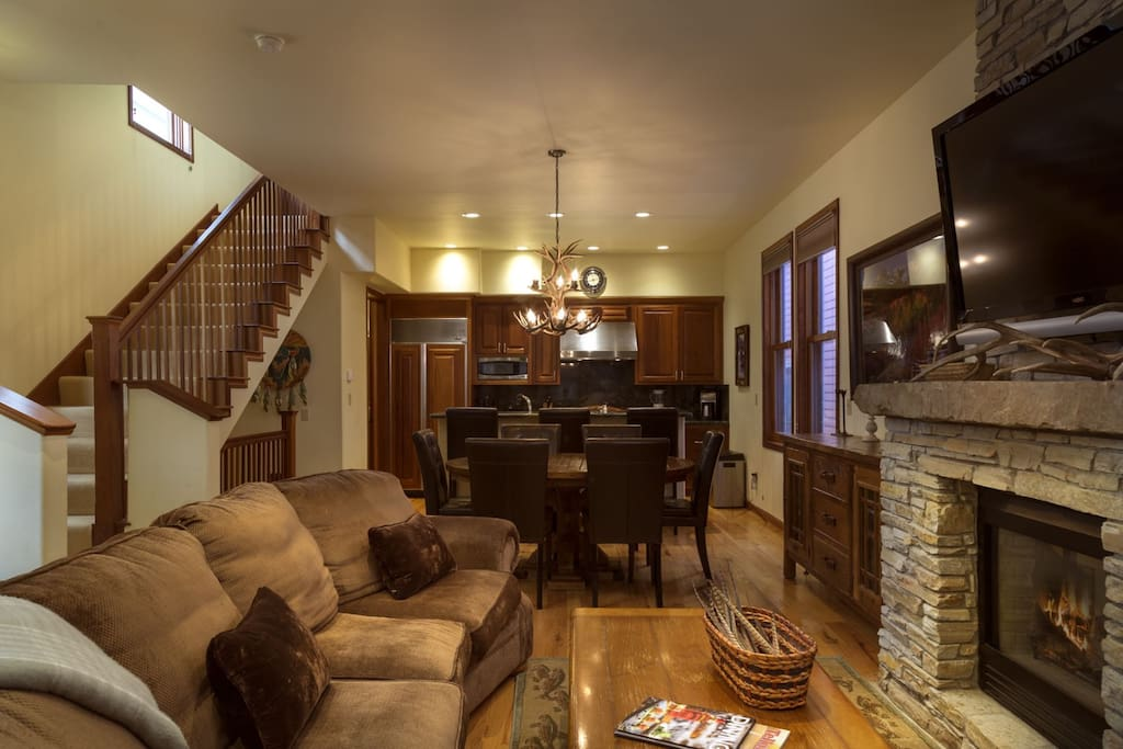 Spacious open layout with room to entertain