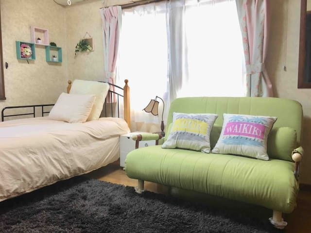 洋室 Easy access to Ikebukuro ! Family Home stay