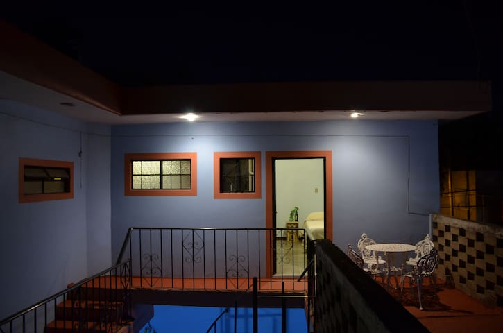 Double room with private bathroom downtown Oaxaca.