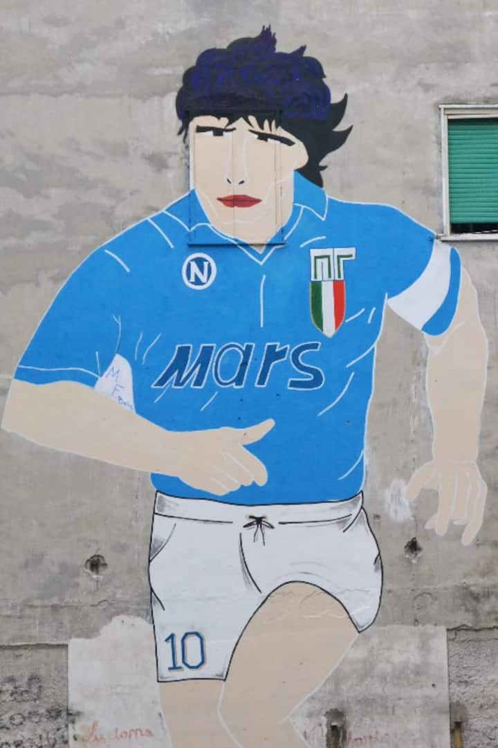 Maradona's murales