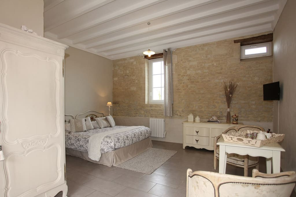 Ferme desp relles chambre romarin chambres d 39 h tes for Chambre basse france