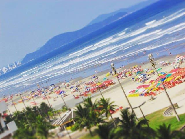 Verão é no Boqueirão na Praia Grande - Praia Grande - Schlafsaal