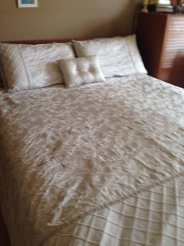 Ensuite masters room with queensized bed+sofabed - Glenwood - House