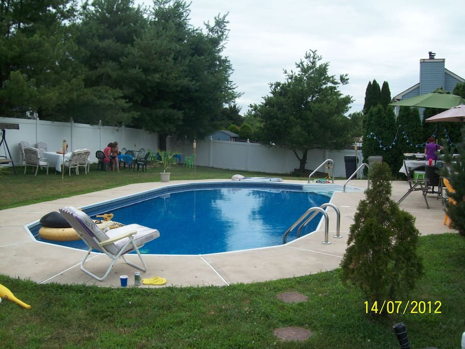 Inground Pool private