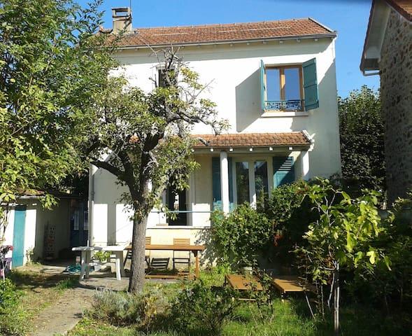 Maison avec jardin proche Orly et RER C&D - Draveil - Ev