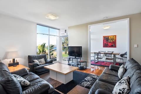 Situated on Williamtown's best street, (The Strand), with bike and walking paths along waterfront.