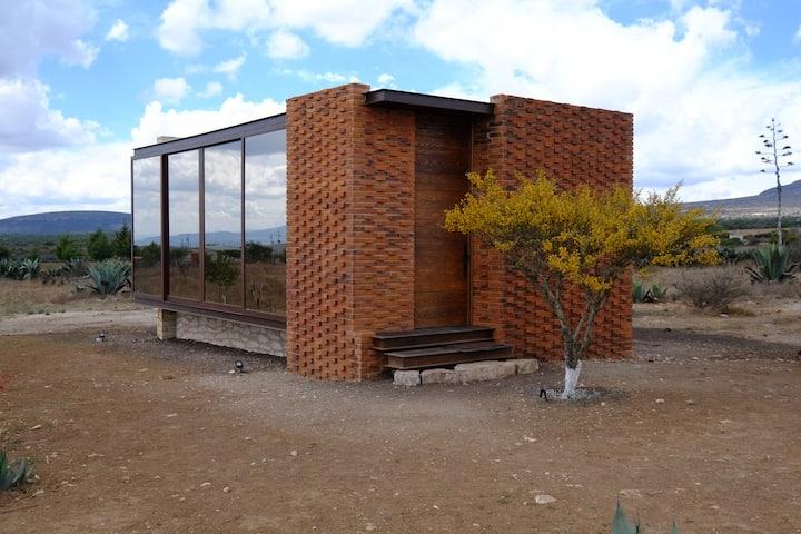 Casa Nube, en Mineral del Cielo.