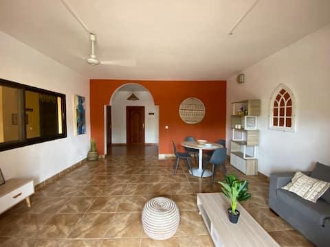 Tropical House 1 (Chambre: le soleil)