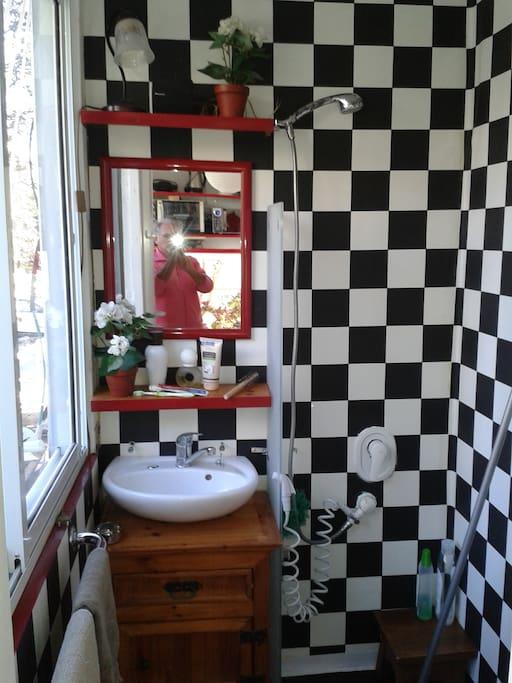 Confortable bathroom