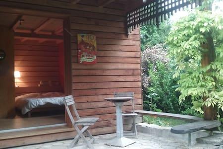 chambre autonome de l'habitation principale - Carspach - Apartment