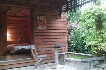 chambre autonome de l'habitation principale - Carspach - Wohnung