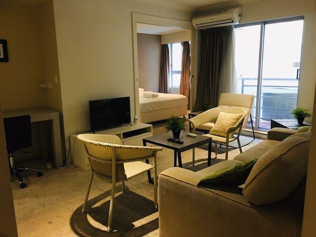 Fresh and Airy CBD Apartment