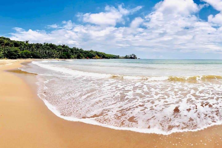 Private Beach - Peach Sand (AC Bungalow)
