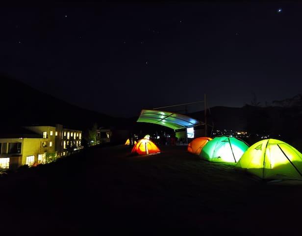 莫干山360度全景星空亲子度假帐篷