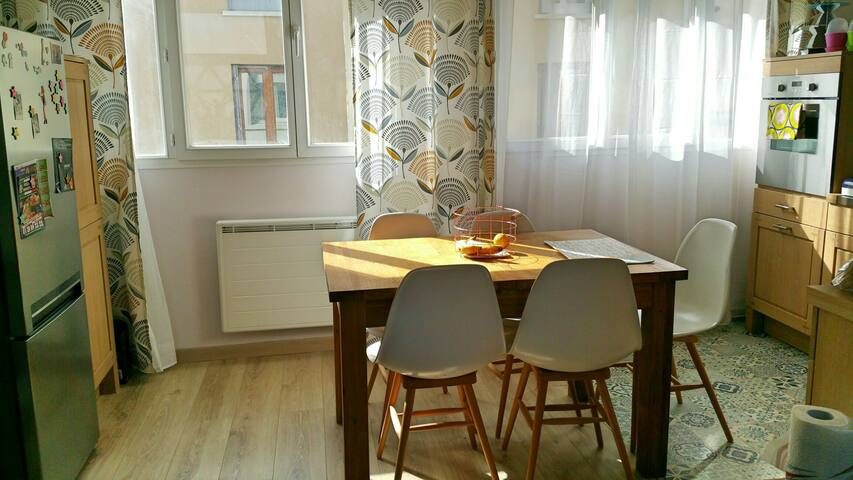 Appartement inspiration scandinave - Montmorency - Pis