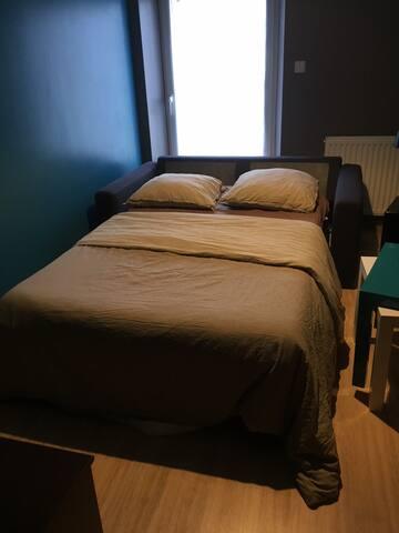 Chambre cozy dans maison chaleureuse