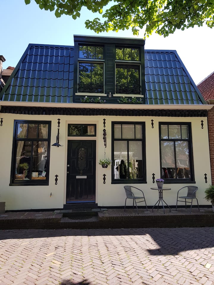 Canalhouse in Edam, near Amsterdam,build in 1740