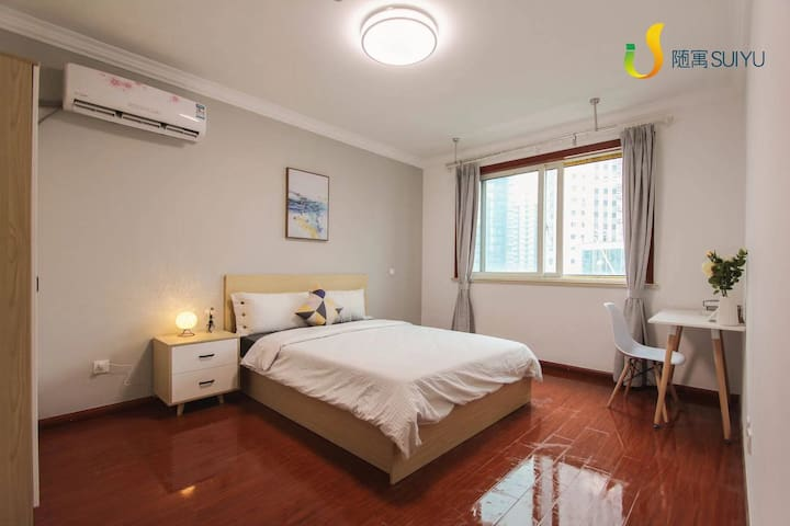PRIVATE DOUBLE BEDROOM IN THE HEART OF SHANGHAI