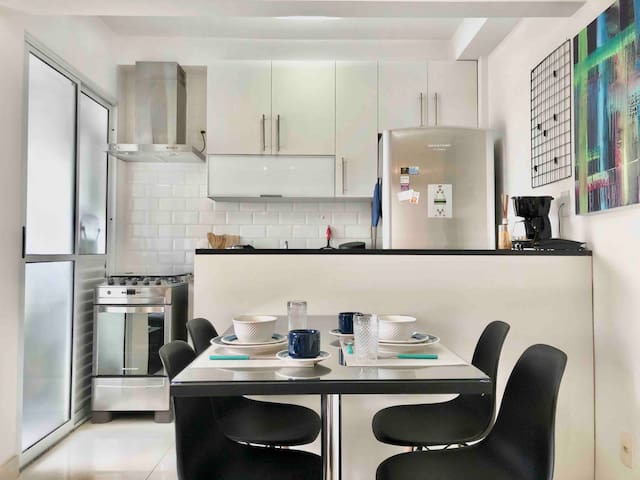 Aconchegante e moderno apartamento na vila olimpia