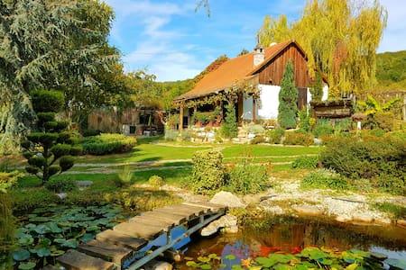 Parasztház a siklósi szőlőhegyen, dézsafürdővel - Siklós