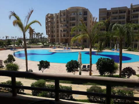 Chalet in Grand Ocean Sokhna. Private
