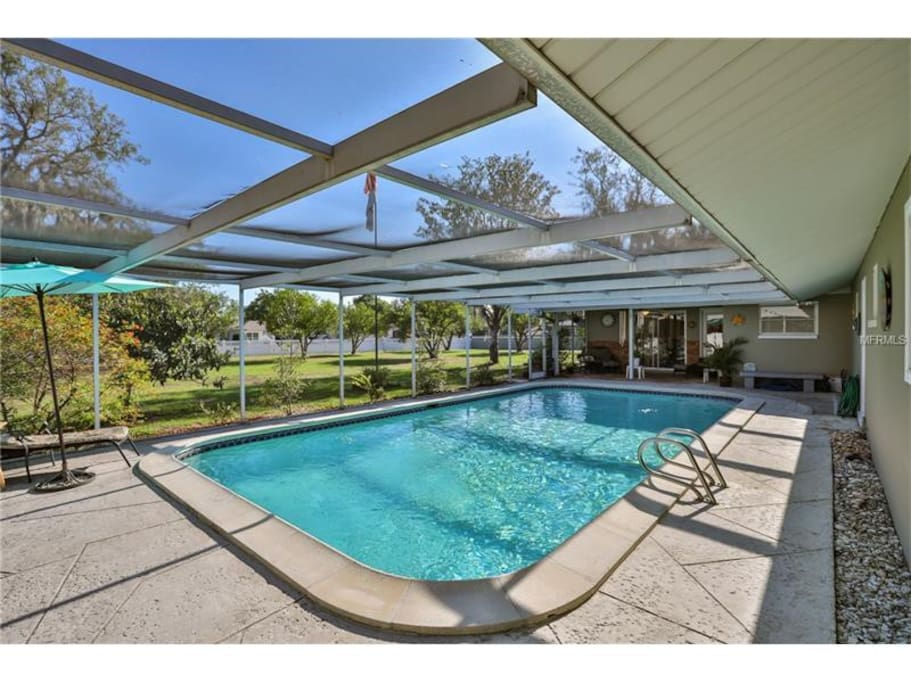 Stunning Brandon Pool Home On One Acre Houses For Rent In Brandon Florida United States
