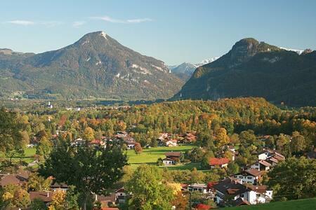 Kleines Appartement mit Bergblick - Brannenburg