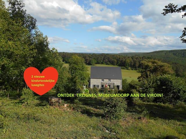 Super kindvriendelijke luxe gites Ardennen, Belgie - Viroinval