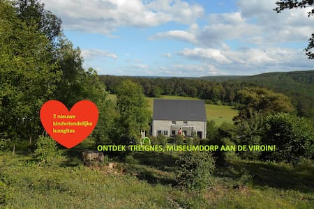 Super kindvriendelijke luxe gites Ardennen, Belgie - Viroinval - Willa