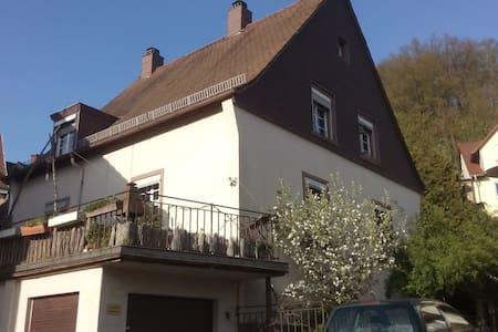 Altstadthaus m Garten & Südterrasse - Otterberg - 獨棟