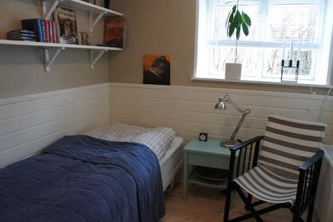 Acogedora habitación con acceso a muchas instalaciones.