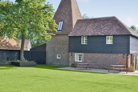 A stylish oast conversion on the 'Darling Buds of May' farm in beautiful Kentish countryside - Bethersden - Hus