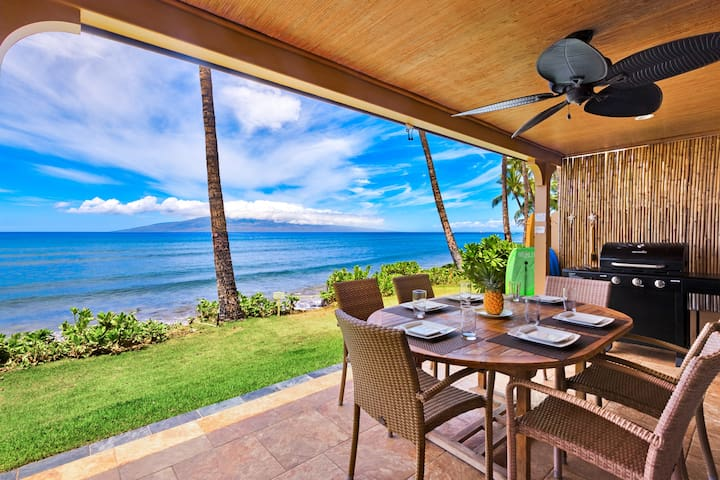 Charming 3 Bedroom Oceanfront in Puamana - Lahaina
