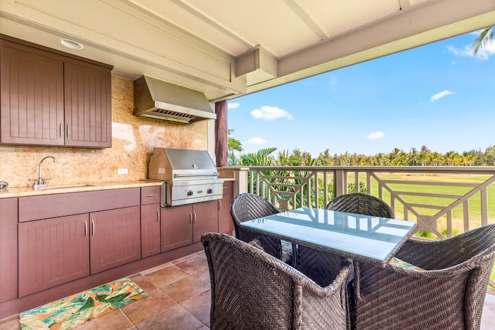 Waikoloa Beach Villas J23 2Bd/2Ba Golf View