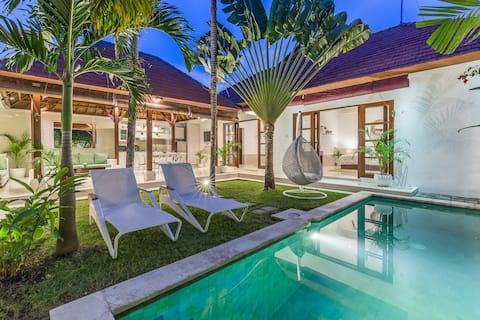3居室私人別墅*靠近可供預訂的俱樂部* BERAWA海灘