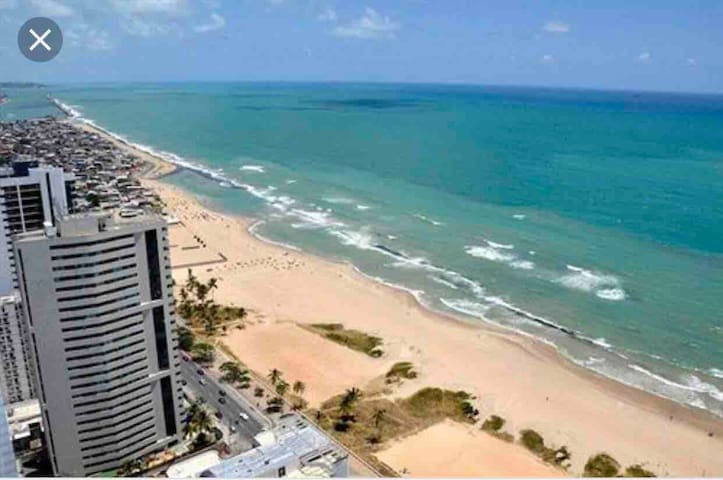 Paraíso à beira mar de Boa Viagem-Nobile Executive
