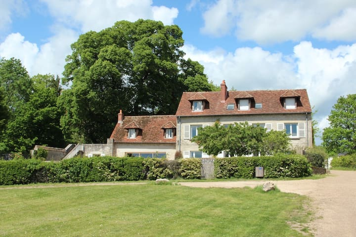 Gîte familial avec vue sur la Loire