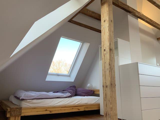 1 Raum Appartement am Wald zw. Köln u. Düsseldorf