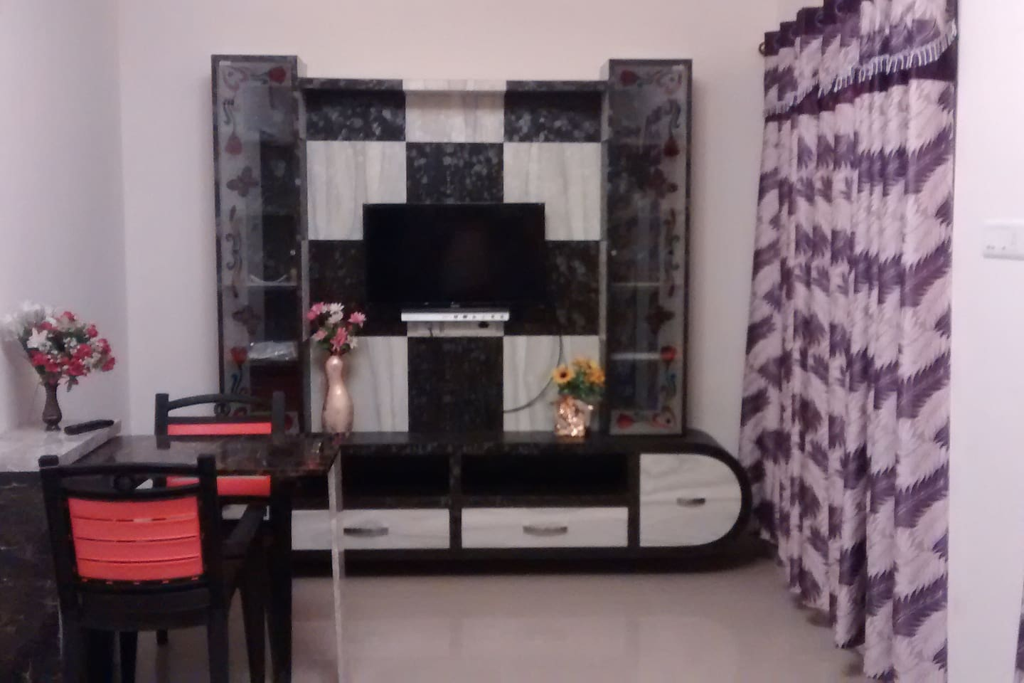 Hall View with TV unit