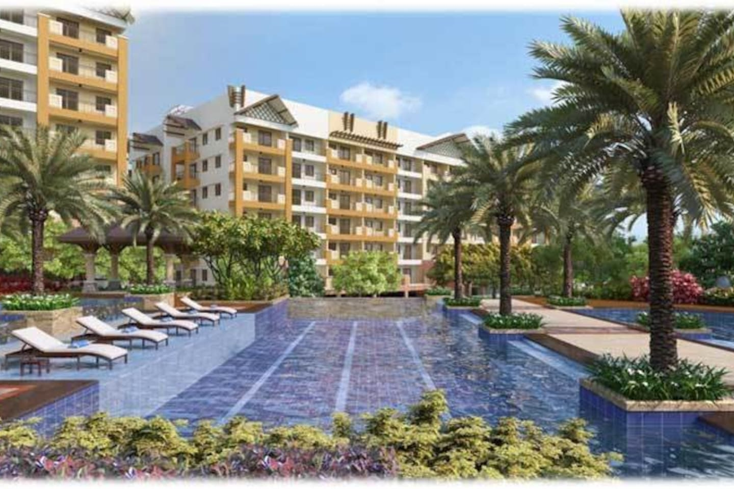 2BR RESORT-TYPE condo with VIEW!!FACING THE POOL!!