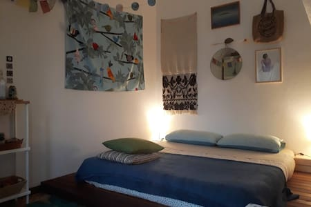Bedroom in Organic Farm >> Lake Maggiore