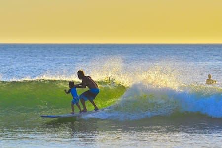 Beachfront! Surf, Eat, Sleep! Tamarindo Cabinas #3 - Tamarindo
