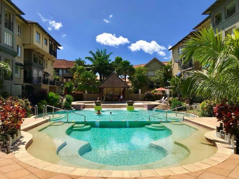 4 swimming pool