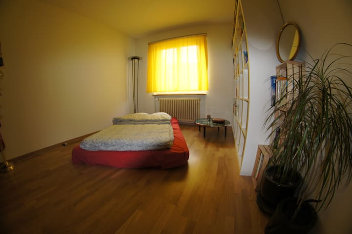 Cozy Futon - 7 min from mainstation