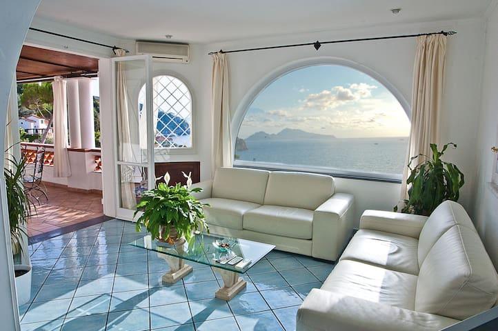 Villa Scirocco Sorrento Coast mare